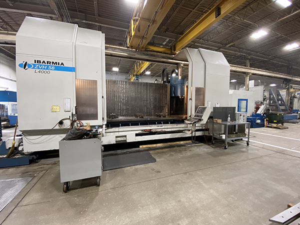 Used 5 Axis Machining Center Ibarmia ZVH58L4000 2008
