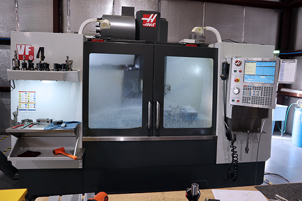 Used Vertical Machining Center Haas VF-4 2014